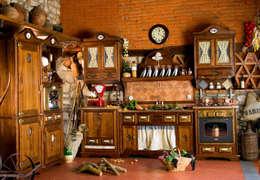 Projekty,  Kuchnia zaprojektowane przez Maggi Massimo