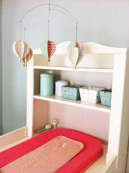 Dormitorios infantiles de estilo  por Judith Wolff Architecte d'intérieur