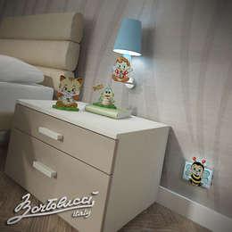 modern Nursery/kid's room by bartolucci