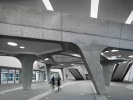 Palais des congrès de style  par Zaha Hadid Architects