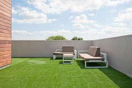 Villa Nieuw Oosteinde: moderne Tuin door Engel Architecten
