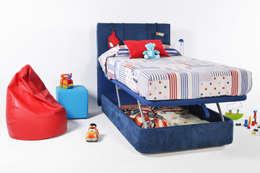 Dormitorios infantiles  de estilo  por 1 TAPIZA S.L.