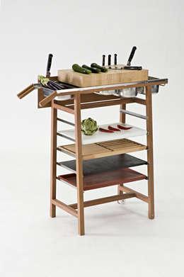 Projekty,  Kuchnia zaprojektowane przez Christian Spiess