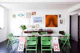 eclectic Dining room by Mauricio Arruda Design