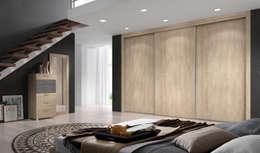 Dormitorios de estilo moderno por Baixmoduls
