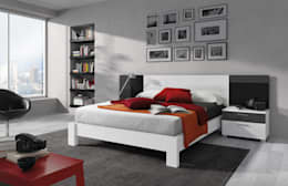 modern Bedroom by Baixmoduls