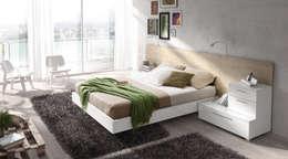 Baixmoduls: modern tarz Yatak Odası