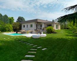 moderner Garten von Studio d'Architettura MIRKO VARISCHI