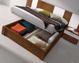 Dormitorios de estilo  por Baixmoduls