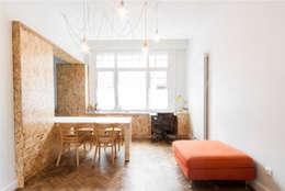 Mur habité: Salle à manger de style de style eclectique par Dientre