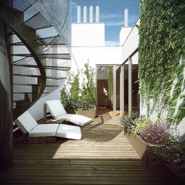 بلكونة أو شرفة تنفيذ Hofmann Architekten ZT GmbH