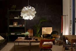 modern Living room تنفيذ Designort
