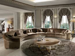 eclectic Living room by SOHER