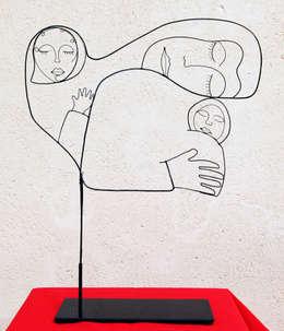 Kunst  door , LoR  Sculpteur Fildefériste