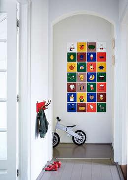 Nijntje ABC: moderne Kinderkamer door IXXI