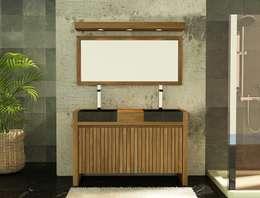 Projekty,  Łazienka zaprojektowane przez kayumanifrance