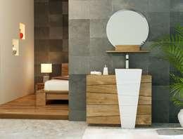 Baños de estilo  por kayumanifrance
