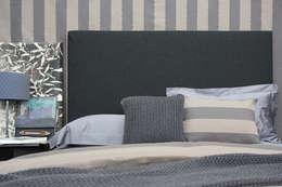 POEMO DESIGN: eklektik tarz tarz Yatak Odası