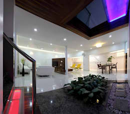 sheetal chayya residence:  Household by manoj bhandari architects