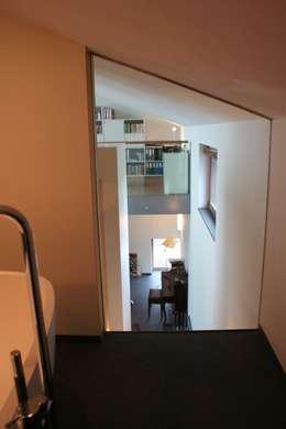 Woonhuis Joosse: moderne Slaapkamer door Groeneweg Van der Meijden Architecten