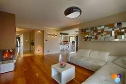 modern Living room by Studio Projektowe Projektive