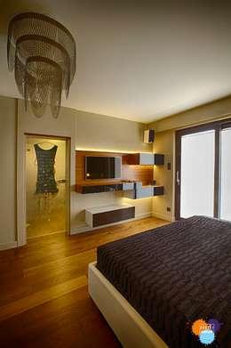 modern Bedroom by Studio Projektowe Projektive