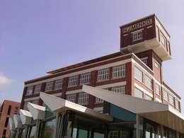 Aanbouw t.b.v. basisschool:  Evenementenlocaties door het architectenforum