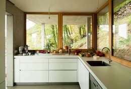 Projekty,  Kuchnia zaprojektowane przez GIAN SALIS ARCHITEKT