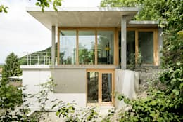 GIAN SALIS ARCHITEKT: modern tarz Evler