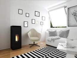 Livings de estilo  por MaisonFire