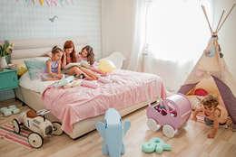 wnetrza: styl , w kategorii Pokój dziecięcy zaprojektowany przez Mocca Studio