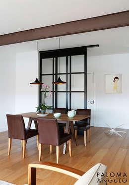 Salle à manger de style de style Industriel par Interiorismo Paloma Angulo