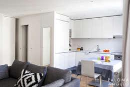 Cocinas de estilo minimalista por Interiorismo Paloma Angulo