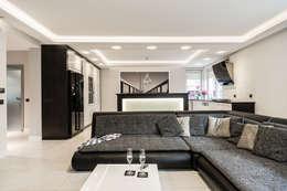 moderne Wohnzimmer von Agnieszka Makowska