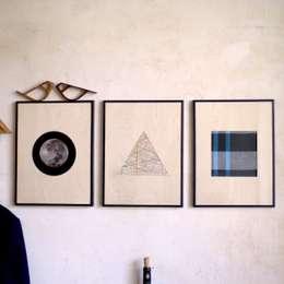 Salas/Recibidores de estilo moderno por Herr Mandel