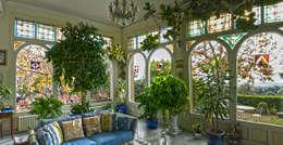 Projekty,  Balkon, weranda i taras zaprojektowane przez VITRAUX IMBERT