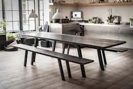 industrial Dining room by AdrianDucerf-Mobilier