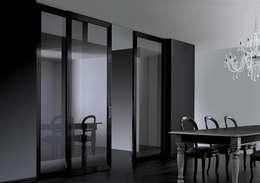 Puertas de vidrio de estilo  por Res