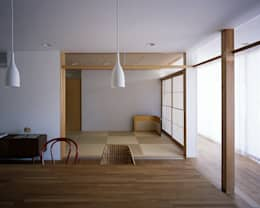 Media room by 俵・小畠建築設計事務所  / Tawara・Obatake Architect & Associates