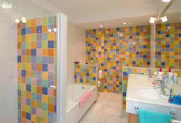 Projekty,  Łazienka zaprojektowane przez PRIBURGOS SLU