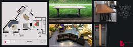 Tolbiac: Salle à manger de style de style Moderne par Agence Diot-Clément