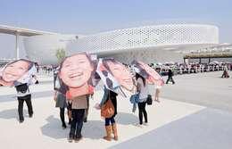 Centros de exhibiciones de estilo  por BIG-BJARKE INGELS GROUP