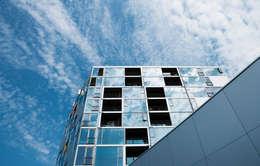 Casas de estilo moderno por BIG-BJARKE INGELS GROUP