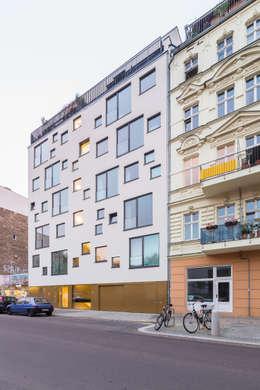 CHO 58 Stadthaus:  Häuser von ZOOMARCHITEKTEN