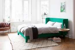 Chambre de style de style Moderne par HOME Schlafen & Wohnen GmbH