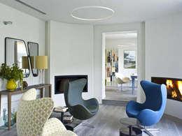 Dosnes, Paris XVI: Salon de style de style Moderne par Agence Diot-Clément
