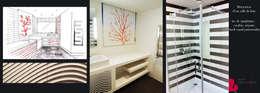 Agence Diot-Clément: modern tarz Banyo