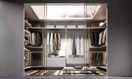 Dormitorios de estilo  por MOBLEC, S.L