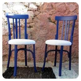 Aromas a madera en las sillas antiguas