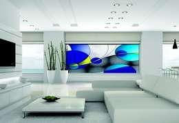 lounge :  Woonkamer door artglas